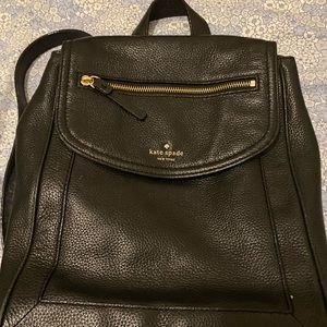 Kate Spade  ♠️ Black Backpack